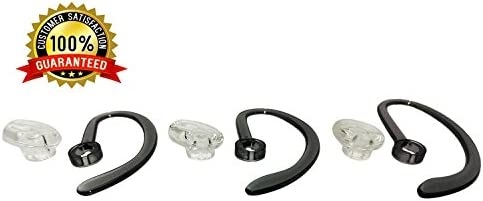 4-Pack Plantronics Replacement Foam Earloop Covers for CS540 W440 W740 Headsets