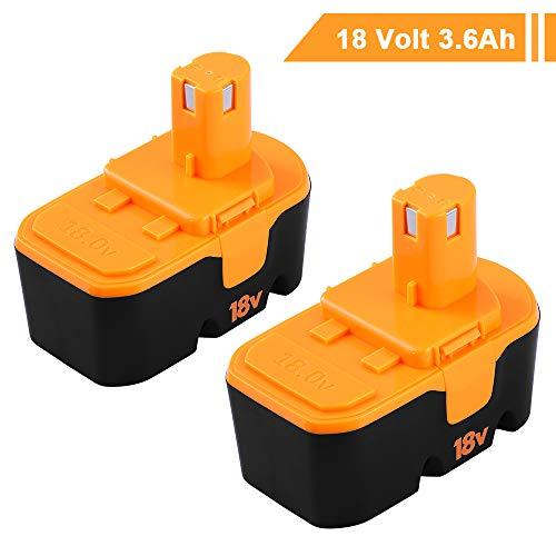 18V 3.6AH for Ryobi battery Replacement Ryobi ONE+ P100 P107