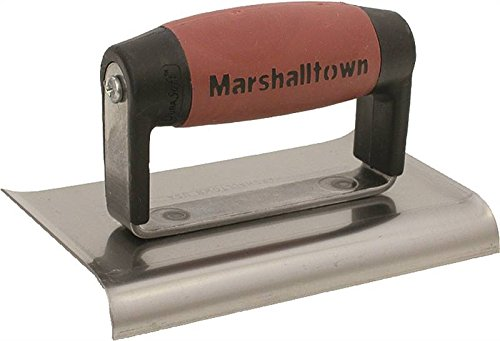 MARSHALLTOWN The Premier Line 138D 6-Inch by 4-Inch Edger with DuraSoft Handle by MARSHALLTOWN The Premier Line