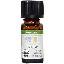 Aura Cacia Organic Essential Oil, Tea Tree, 0.25 Fluid Ounce