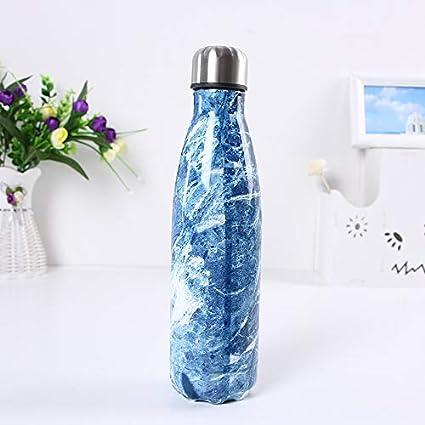 Vaso De Agua Termo Copa De Aislamiento De Gran Capacidad Vaso De Acero Inoxidable Botella De Vac/ío