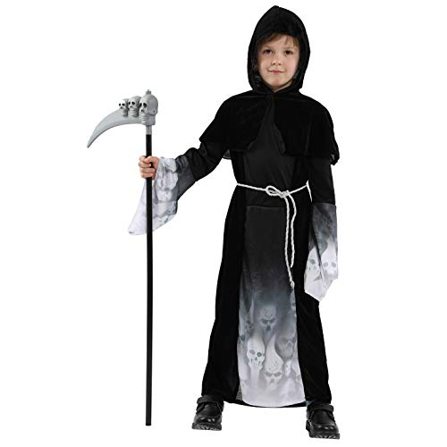 LOLANTA Kids Vampire Halloween Costumes Boys Girls Bloodsucker Ghost Cosplay Dress up -
