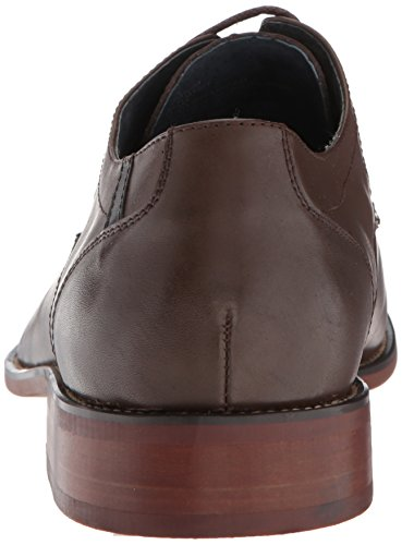 Steve Madden Mens Derium Oxford Marrone Pelle