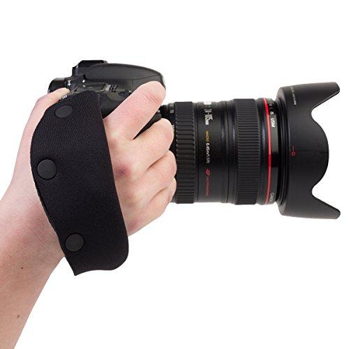 OP/TECH USA 6701232 E-Z Grip, Neoprene Grip-Style Camera Strap (Black)