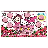 Fujiya Peko × Sanrio Characters Straweberry Party Chocolate Bar Hello Kitty My Melody Japan Dagashi Snack