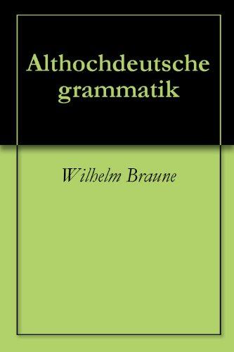 Althochdeutsche texte online dating