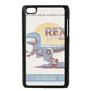 iPod Touch 4 Case Black REX WRENCH 2000 OJ435129