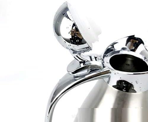 Bouilloire sous Vide 2L Bouteille d'eau Chaude sous Vide à Double Couche en Acier Inoxydable 304, Pot d'isolation de jus/Lait/thé,