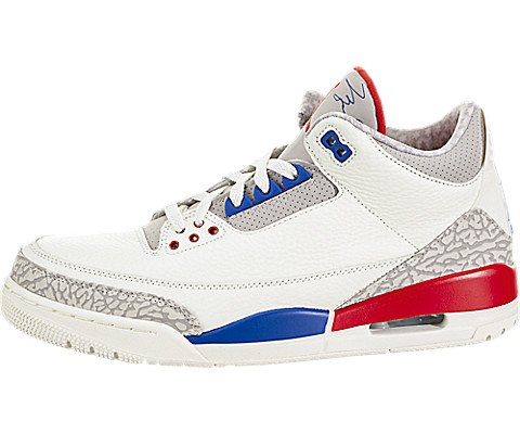 (Nike Mens Jordan 3 Retro Basketball Shoe (10))