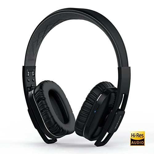 dodocool Active Noise Cancelling Bluetooth Headphones Over Ear, Stereo Wireless and Wired Headphones w/mic, Foldable Headset with Carrying Case for PC/Cell Phones/TV Review