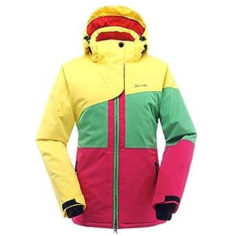 Amazon.com: SAENSHING Women's Ski Jacket Waterproof