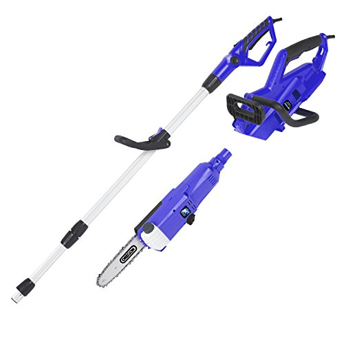 Blue Max 52959 2-in-1 Dual Telescoping Pole Saw and Portable Chainsaw by Blue Max