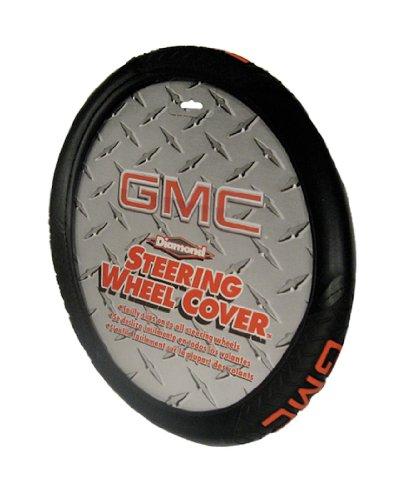 Plasticolor 006714R01 Gmc Diamond Steering Wheel Cover