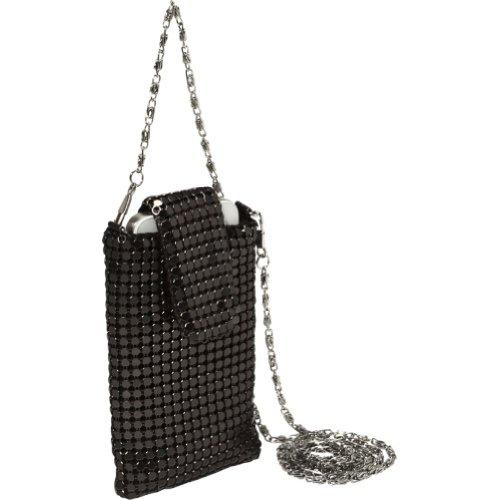j-furmani-metal-mesh-cell-phone-bag-black