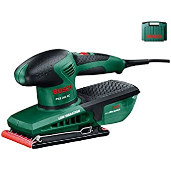Bosch PSS 200 AC Lijadora orbital 200W negro, verde - Amoladoras de banda (lijadora orbital, amoladora manual, negro, verde, bolsa, rectangular, EN 60745): Amazon.es: Bricolaje y herramientas