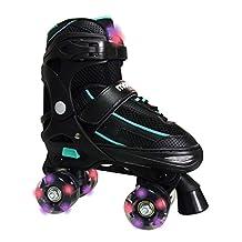 Mongoose Adjustable Quad Roller Skate- Sizes 1-4