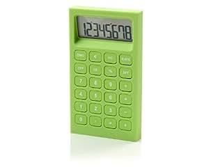 Lexon Buro Desk Accessories, Green Calculator