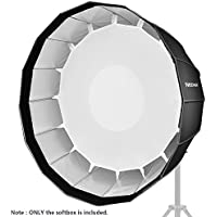 Neewer 36 inches/90 centimeters Deep Hexadecagon Softbox - Quick Collapsible with Bowens Speedring and Diffuser for Speedlite Studio Flash Monolight,Portrait and Product Photography