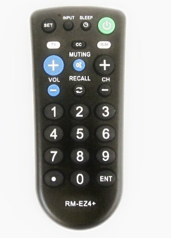 Nettch Sony RM-EZ4 2-Device Universal Remote with Big Button