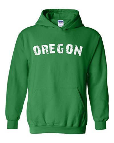 Blue Tees Oregon Home Of Portland Press Herald Fashion Salem Or People Couples Gifts Unisex Hoodie Sweatshirt Large Irish Green