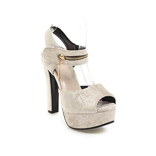moda sandali sandali pesce 37 e sono riso le sexy in sposa sandali donne sandali tavoli bianco sandali impermeabile ai bocca aEnH08wq