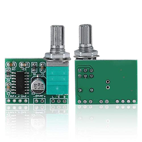 2 stuks PAM8403 Mini 5 V digitale versterker module, 2 * 3 watt audio versterker module board, high power stereo…