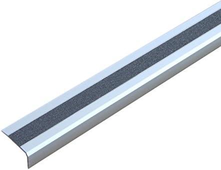 Antideslizante Escaleras borde Perfil Aluminio M2 universal gris, ATM1AF1sk: Amazon.es: Bricolaje y herramientas