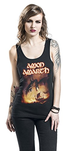 Donna Sea Amon Amarth Top Nero Blood of On Nero A gqZqF0
