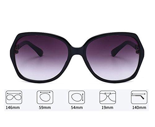 sol Huateng gafas sol de clásicas de Gafas Marrón de de de sol las manera la femeninas polarizadas Gafas SgwEgRUq4