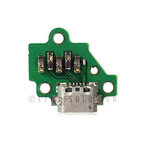 ePartSolution_Motorola Moto G3 3rd Gen XT1540 XT1548 XT1542 USB Charger Charging Port Flex Cable Dock Connector USB Port Flex Cable Replacement Part USA -