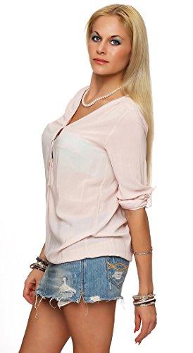 Italy Rosa Camisas Moda Para Mujer gxZZ1T