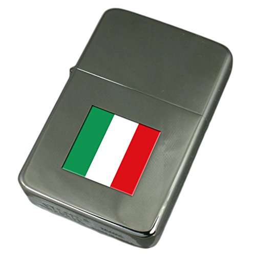 Engraved Lighter Italy Flag by Select Gifts