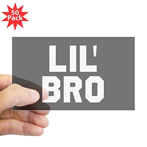 CafePress - Lil Bro - Sticker (Rectangle 50 pk) by CafePress