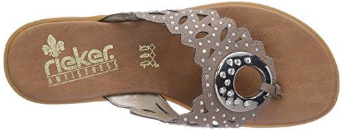 Rieker 63456 - Protectores de dedos Mujer Beige (Pietra / 65)