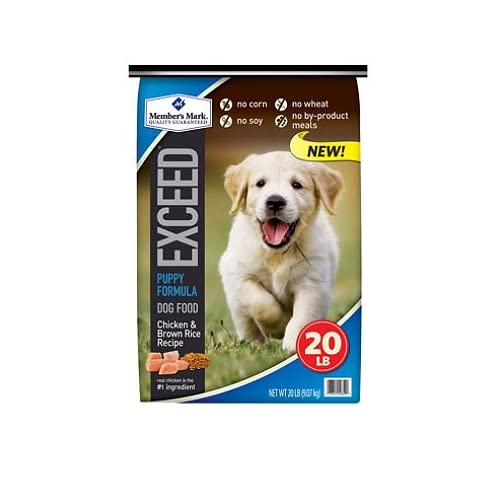 outlet Member's Mark Exceed Puppy Food, Chicken & Rice (20 lbs.) SCS