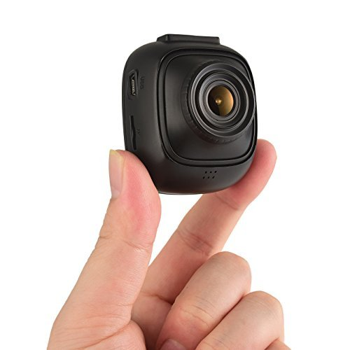 Rexing F10 Dash Cam 1080p Full-HD WiFi Wide Angle Dashboard Recorder Built-in WiFi with APP, G-Sensor, Loop Recording, WDR
