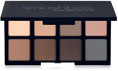 Smashbox Mini Photo Matte Eyes Palette, 0.17 Ounce (Best Drugstore Neutral Matte Eyeshadow Palette)