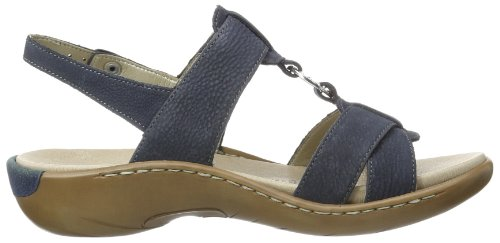 Remonte Remonte - Zapatos de pulsera Mujer Azul (Blau (lake 14))