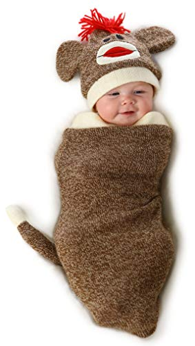 Princess Paradise Baby Marv The Monkey Deluxe Costume Swaddle, As As Shown,