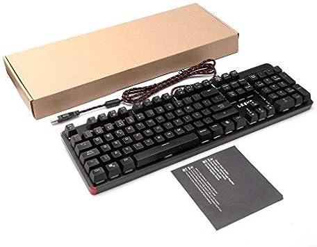 Teclado Mecánico Gaming 105 Teclas LED de 13 Colores RGB ...