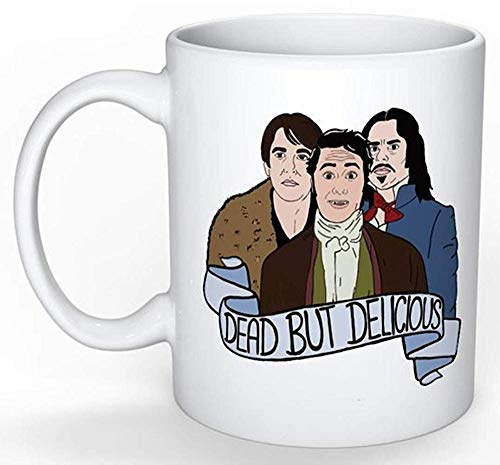 What We Do In The Shadows Mug (Taika Waititi Jemaine Clement Flight of the Conchords Eagle Vs Shark Funny Gift New Zealand) (Flight Of The Conchords Both In Love)
