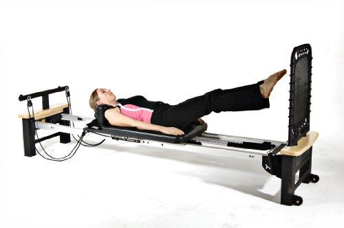 Stamina AeroPilates Pro XP Home Pilates Reformer with Free Form Cardio Rebounder