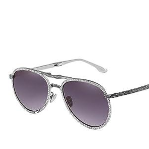 Men's Folding Mirror Sunglasses Diamond Sunglasses Women's Trend Sunglasses Mirror,4