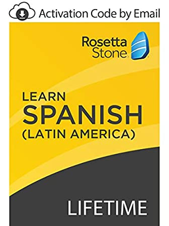 Rosetta Stone: Learn Spanish (Latin America) with Lifetime Access on iOS, Android, PC, and Mac - mobile & online access [PC/Mac Online Code]