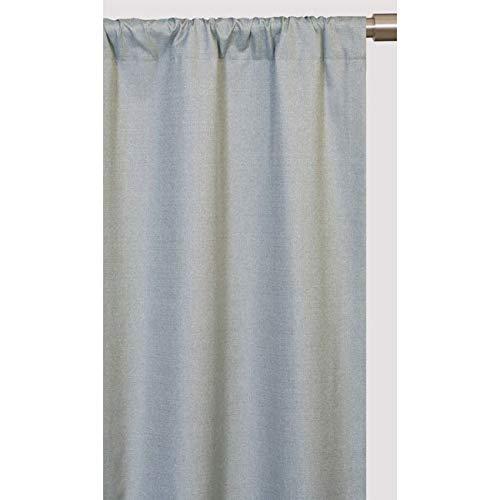 Softline Trilogy Rod Pocket 84-inch Curtain Panel Chocolate