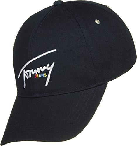 Iris Bleu De Femme Tommy Casquette Tjw black Cap Baseball Signature Jeans 496 p8xvw17q