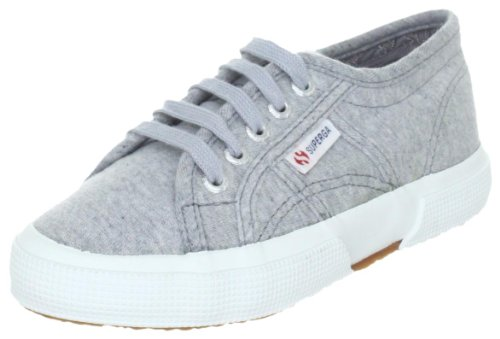 Superga 2750- JERSEYJ S004WJ0 Unisex-Kinder Sneaker Grau (Lt Grey C38)