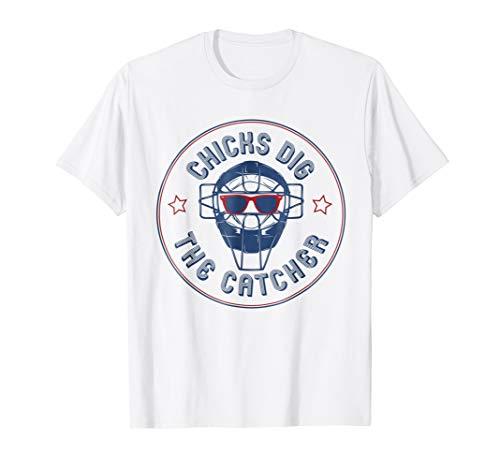 (Chicks Dig The Catcher T-Shirt )