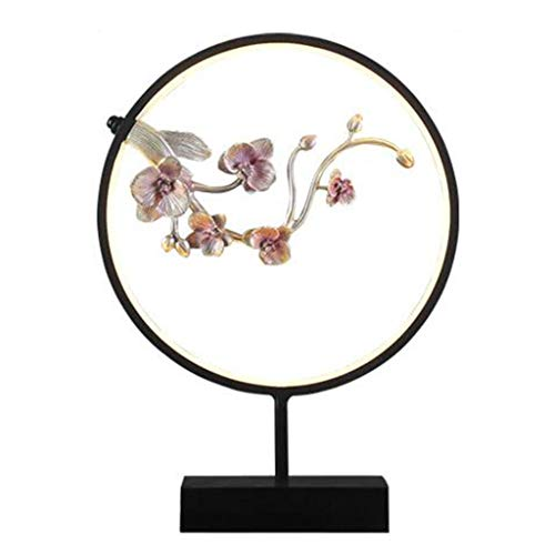 Interior Decorating Decoration Creative Home Living Room Decoration Zen Chinese Style Welcome Song Song Xuan Creative Decoration Crafts Business Wedding Gift (Color : Pink, Size : 4635cm)