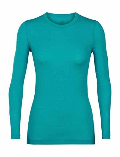 23be45cdaf1 Icebreaker Merino Women's Sprite Long Sleeve Crewe Exercise & Fitness Tops,  X-Small,